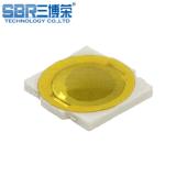 供应轻触开关 贴片式4.8*4.8 超薄按键 黄色薄膜开关