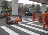 茂名公司专业承揽公路热熔划线,车道中间分界线,路面标线