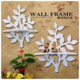 工厂定做创意墙上多功能置物挂壁架 田园简易树形雕花家居用品