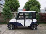 续驶里程远的电动巡逻车,速度快的四座电动封闭巡逻车