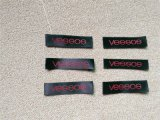 VESSOS唛头 服装领标 木梭机唛头