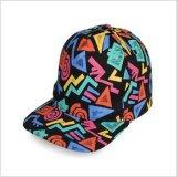 高普几何图形平沿帽6C4317