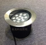 12W(24W)圆形可外调角度LED转角地埋灯