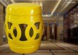 万业陶瓷推荐家居摆件陶瓷换鞋凳_瓷器凳子批发_景德镇凳子生产厂家