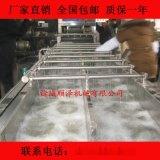 厂家直销顺泽牌蔬菜气泡清洗机 叶类清洗机 连续式清洗加工成套设备