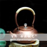 西關打銅純手工紫銅銅壺