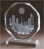 广州水晶奖牌 水晶奖杯水晶纪念品由滕洪工艺品有限公司出品m299型号水晶奖杯