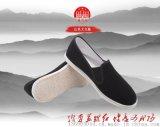 苏维红相巾面料老北京布鞋传统工艺舒适男鞋纯手工千层底