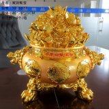 应绒纱金金元宝供、绒纱金财富金碗、一桶金、招财聚宝盆(貔貅)