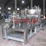 東豐機械CFR棒棒冰灌裝封口機、水果形果凍飲料充填機、全自動旋轉式軟管灌裝封口機