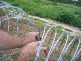 蛇腹型刀片刺绳304不锈钢