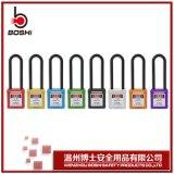 工程安全挂锁G31长梁钢制金属 绝缘工程塑料锁身安全管理挂锁锁具