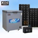 凱爾奇 12V/24V 直流臥式冰櫃 太陽能冰櫃 風能冰櫃 頂開門冰櫃 可來圖定制 BD-158升 單溫冰櫃