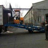 盛荣10吨移动式集装箱装卸登车桥