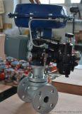 普雷沃POV+气动薄膜单座调节阀