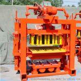 QTJ4-25全自动砌块成型机免烧砖机空心砖机八孔砖标准砖2孔大砖机