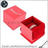 批发定做高档首饰盒纸制手表盒 经典大红色手表盒子手链手镯盒