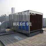 鲜风系统 供鲜风 送风房 空气过滤净化