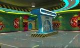 深圳游戏厅景观装扮厂家供应室内儿童游乐园环境设计装修