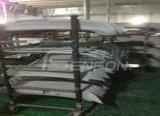 汽车导流板机器人自动喷涂线,增加了产品表面除湿预热处理