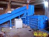 江阴半自动废纸液压打包机