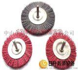 尼龙磨料丝刷 研磨刷 抛光刷 哑光刷 尼龙磨料刷 工业刷 漆包线抛光轮 笔型刷 剥漆轮