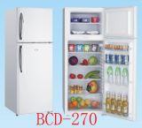 BCD270L太阳能冷柜冰箱 直流冰箱冷柜 DC12V/24V 冷藏冷冻箱
