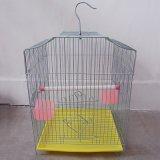 厂家批发加粗镀锌鸟笼 鹦鹉鸟笼大号 折叠鸟笼电镀笼 八哥鸟笼