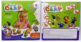 亲子互动超轻粘土太空彩泥儿童玩具幼儿园玩具