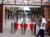 彩屏翼闸 通道闸 桥式人行通道 闸机 智能 小区 门禁 地铁刷卡机