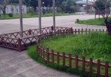 pvc栅栏 花园围栏 公园草坪隔离栅 pvc草坪护栏