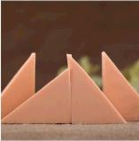 廠家直銷粉撲批發6塊三角形粉撲組合海綿節約型化妝工具不易掉渣