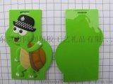 環保PVC 3D滴膠行李牌 烏龜滴膠登機牌廠家 可加工定制