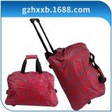 外贸厂家直供广州狮岭男女布类拉杆箱拖轮旅行箱软箱行李箱包