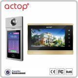 ACTOP卓豪无线楼宇可视对讲智控系统梯口机室内分机A980-C8安卓云服务触摸屏