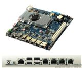 深圳派勤NET2550电脑工控主板/4网卡凌动2550主板/板贴内存多网卡工控主板