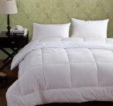 优质旅店舒适被芯白色被子