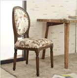 欧式实木餐椅休闲圆背椅椅酒店软垫办公咖啡厅奶茶店椅子批发