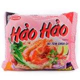 越南特产进口泡面ACECOOK牌酸辣虾面 虾味方便面方块面