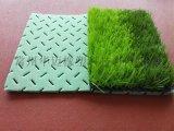 绿色环保透水减震层 人造草弹性垫层 合成材料吸震层 三维足球场减震垫 缓冲垫 吸震垫 弹性基础