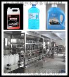 【邵峰机械】除锈剂 养护剂 玻璃水灌装机 双伺服灌装 低泡 高精度