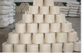 现货处理CVC60/40 21支环锭纺染色印花机织用纱线