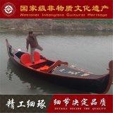 重庆辽宁哪里有木船厂家出售高档水城威尼斯贡多拉游船 意大利专业设计师设计制作图