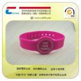 厂家生产销售 智能手腕带RFID硅胶ID感应卡 高频识别腕带