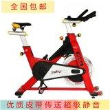 家用动感单车皮带静音直立式商务健身车