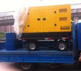 20KW移动拖车柴油发电机