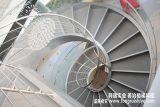 创意的钢结构旋转楼梯