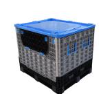 西诺热销1211大型折叠式卡板箱大型可折叠周转箱折叠式箱式托盘