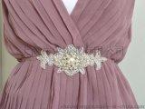 婚纱腰带 礼服水钻腰带 珠绣腰带 珍珠腰带 手工钉珠腰带