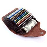 广州工厂定制卡包真皮风琴卡包简易时尚卡套外贸爆款卡包